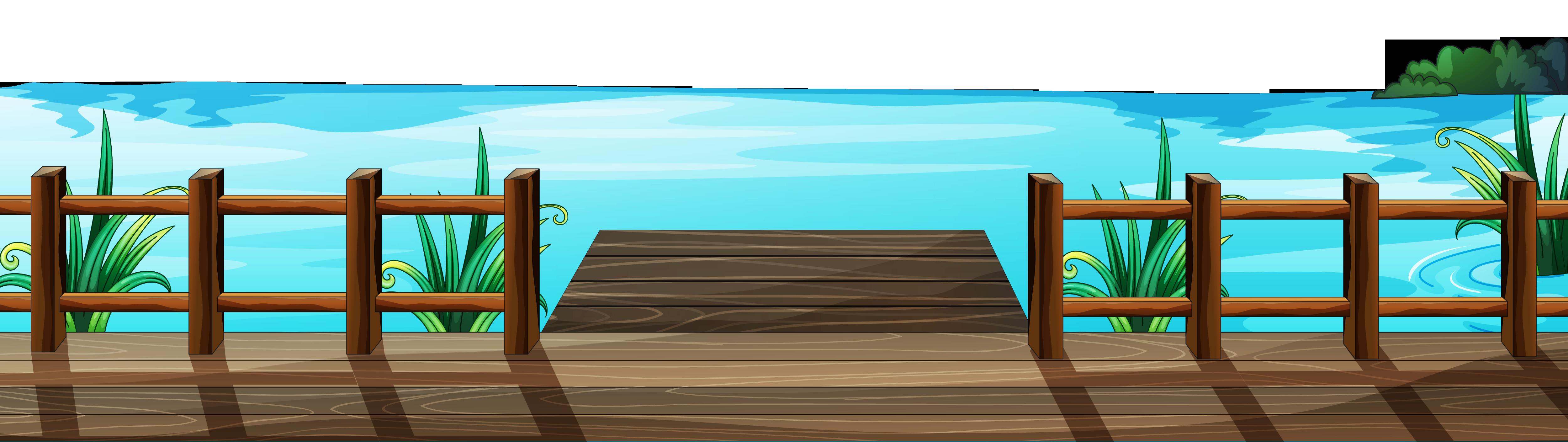 Dock clip art.