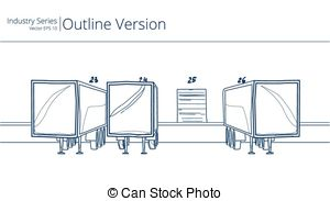Loading dock Illustrations and Clipart. 1,027 Loading dock royalty.