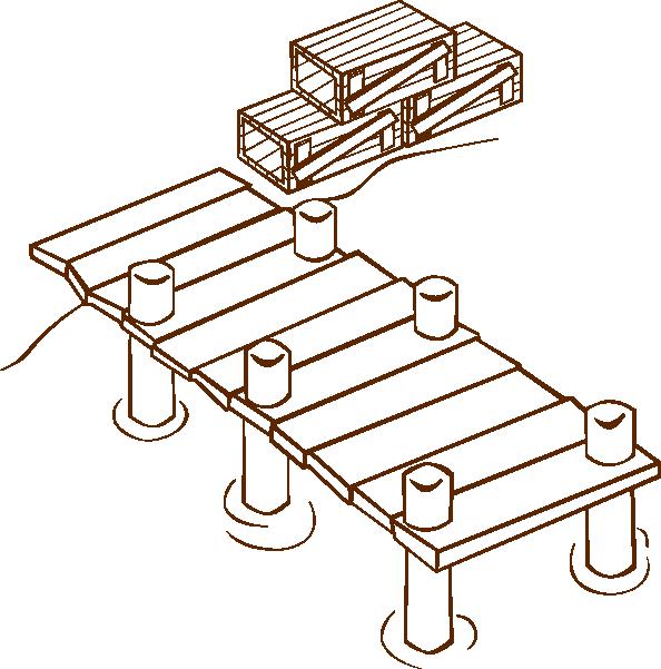 Docks clip art Free Vector / 4Vector.