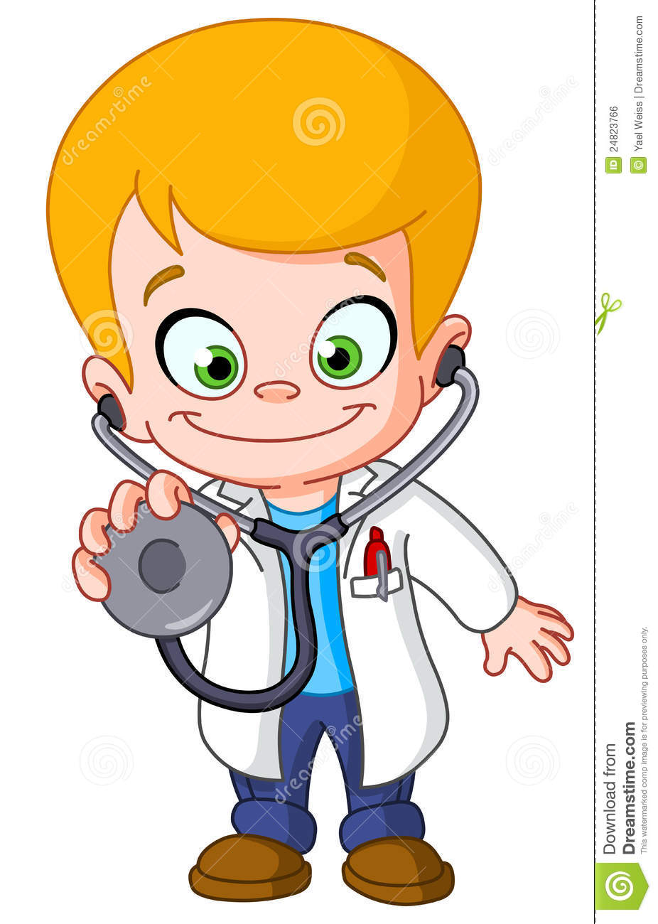Doctor And Child Clipart.