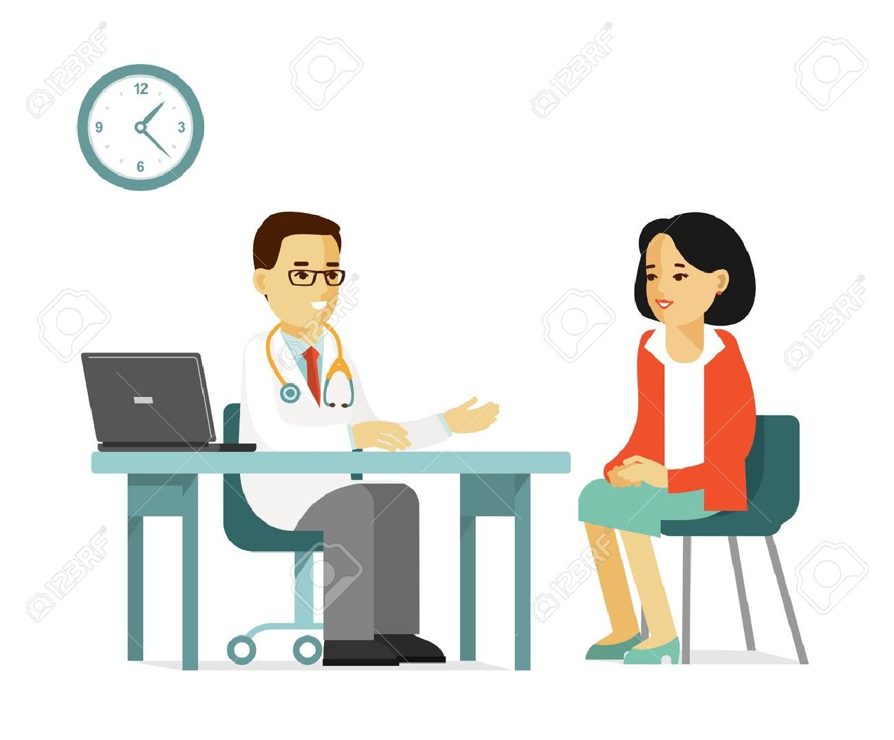 Doctor and patient clipart 4 » Clipart Station.