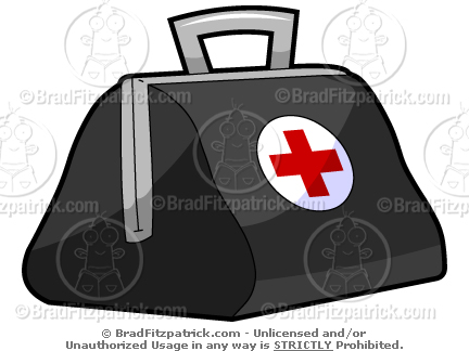 Doctor Bag Clipart.