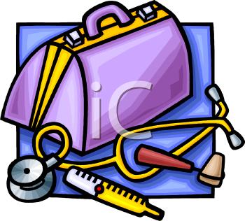 Doctor Bag Clipart.