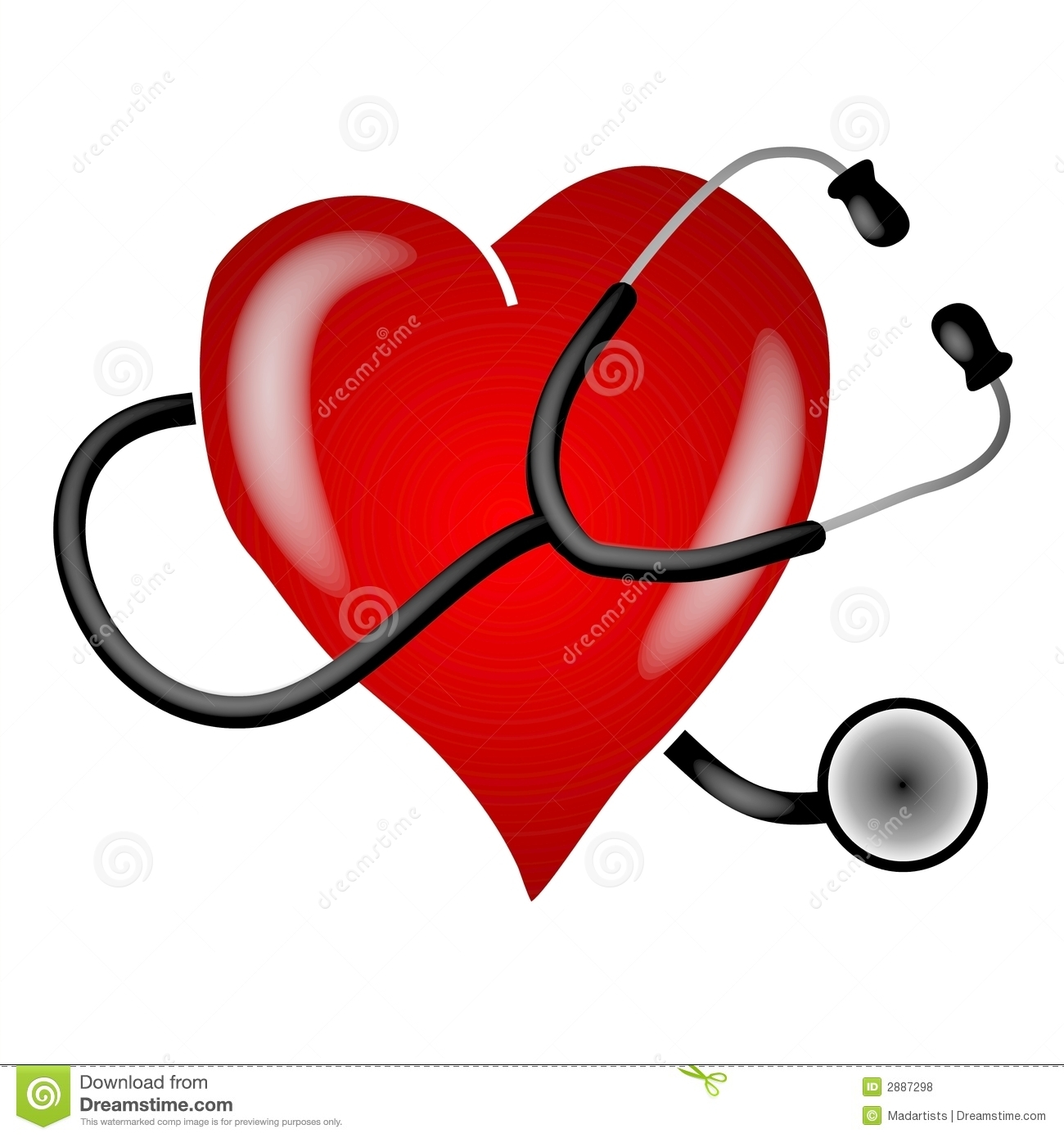 Heart doctor clipart.