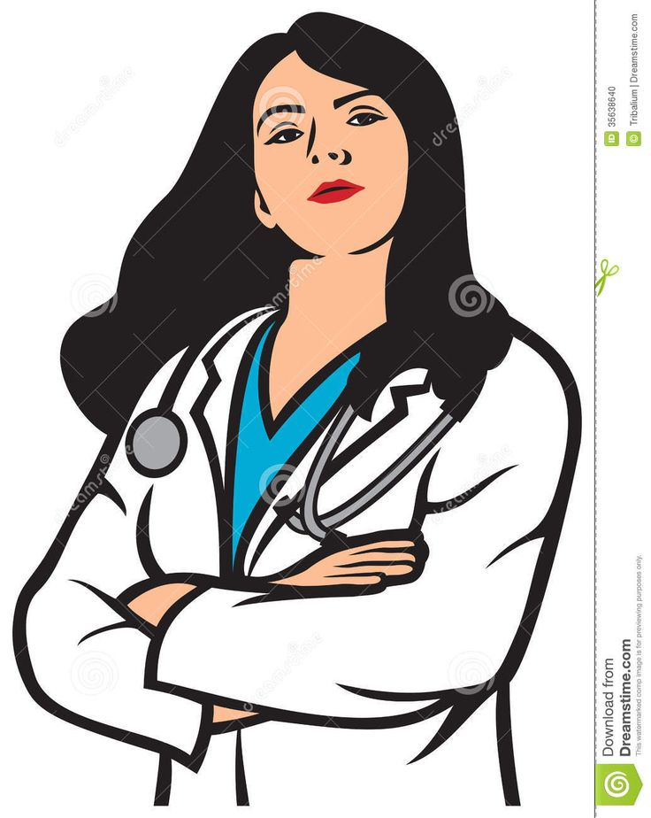 Clipart of doctor.