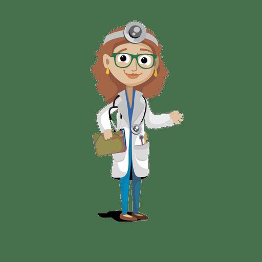 Doctor profession cartoon.svg.