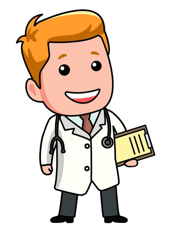 Showing post & media for Doctor clip art cartoon.