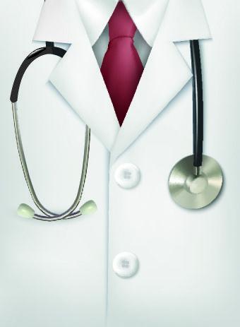 Vector set of Medical background Illustration 05.