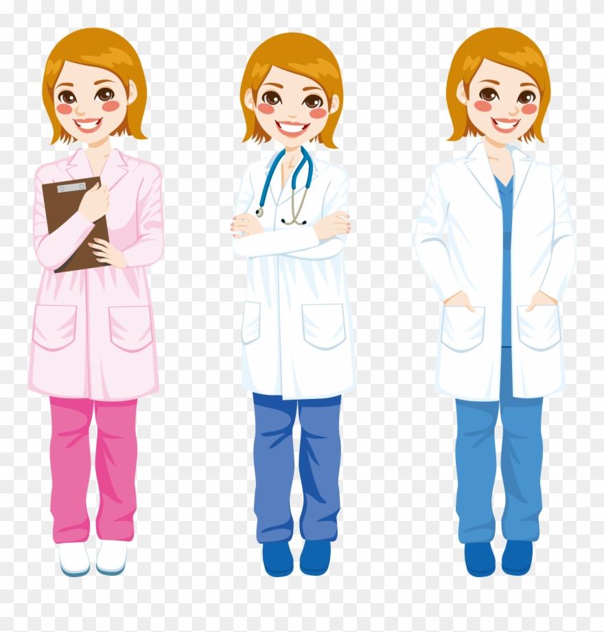 Doctors Clipart White Coat.