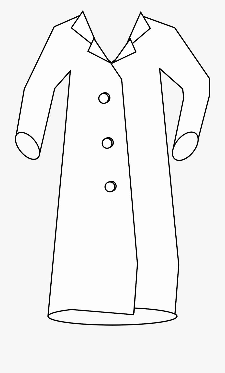 Pocket Clipart Lab Coat.
