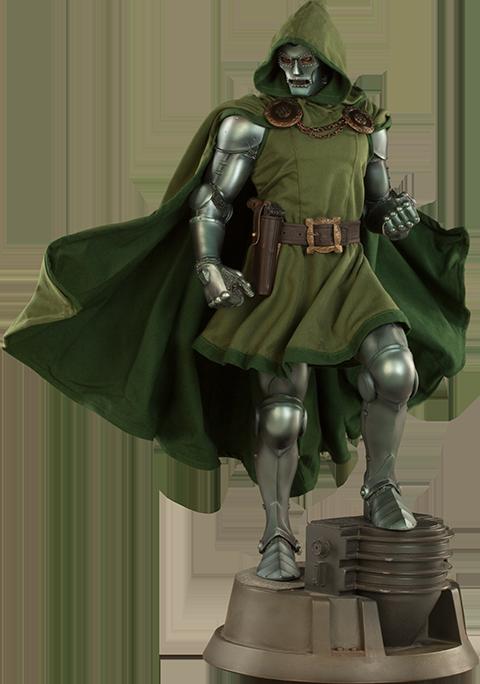 Marvel Dr. Doom Premium Format(TM) Figure by Sideshow Colle.