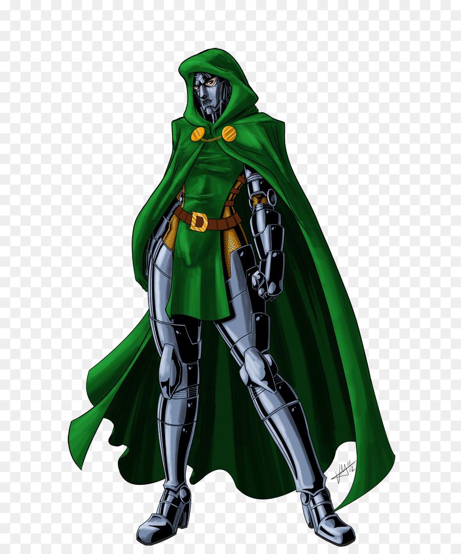 Doctor Doom Figurine png download.