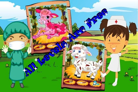 Baby Farm Animals Doctor Game.