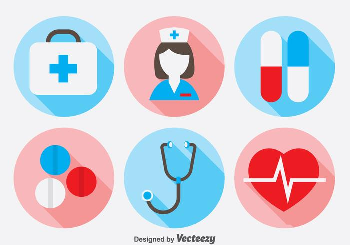 Doctor Icons Set.