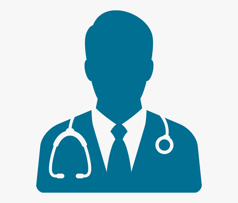 Blue Doctor Icon Transparent, Cliparts & Cartoons.