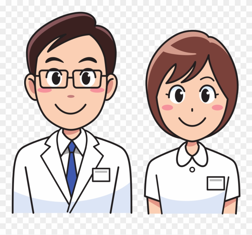 Doctor Male And Female Png Clipart Physician Nursing.