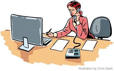 Office Job Clipart.