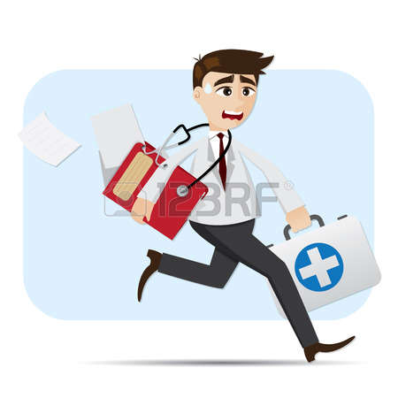 1,771 Doctor Running Cliparts, Stock Vector And Royalty Free.