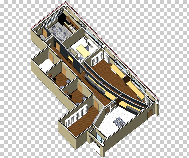 3D floor plan Clinic Doctor\'s office, building PNG clipart.