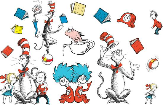 free clip art cat in the hat dr seuss clipart.