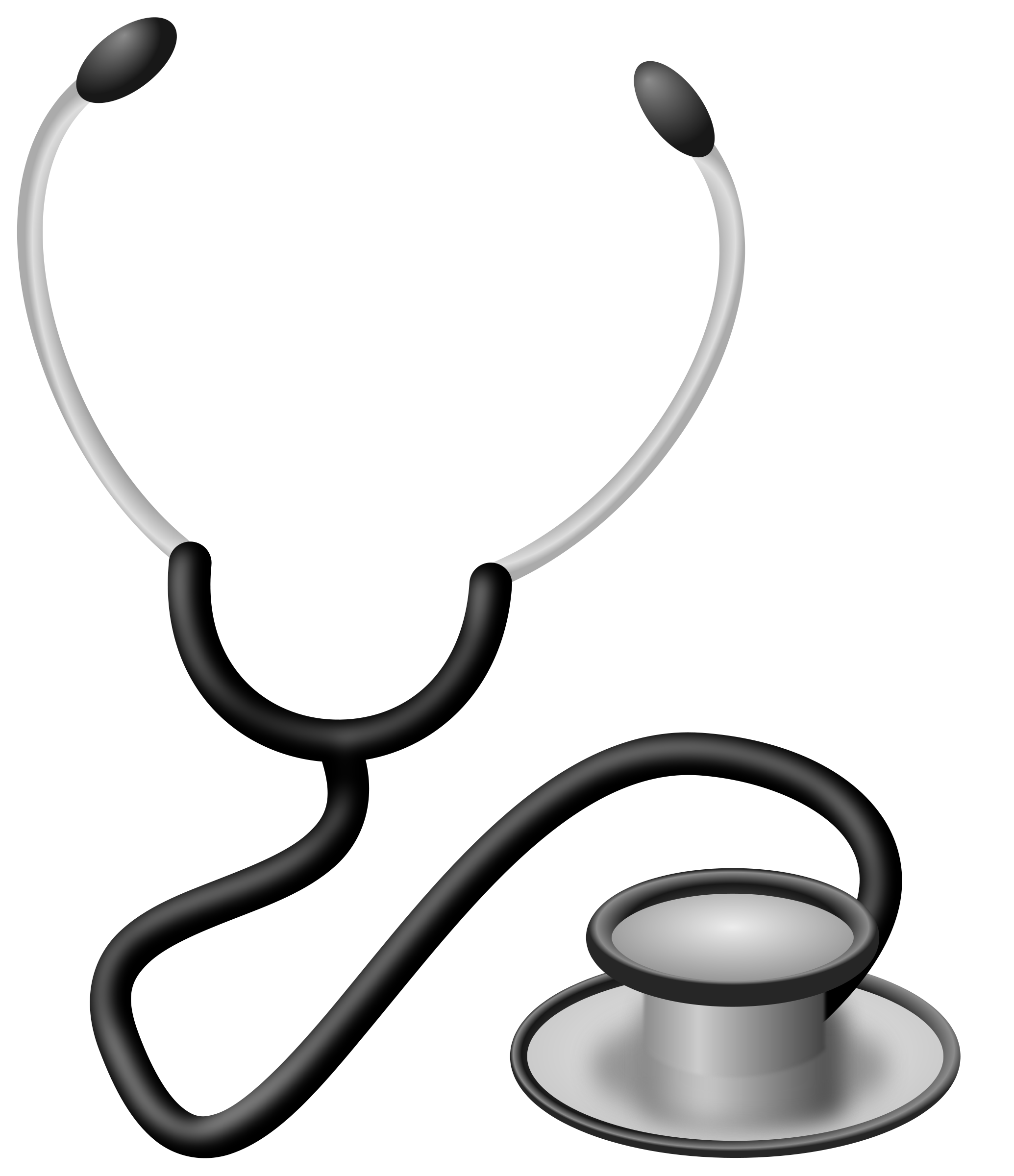 Doctor Stethoscope Clip Art N7 free image.