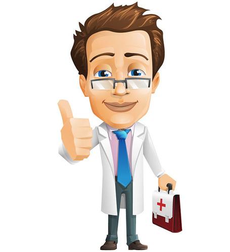 Clipart doctor vector, Clipart doctor vector Transparent.