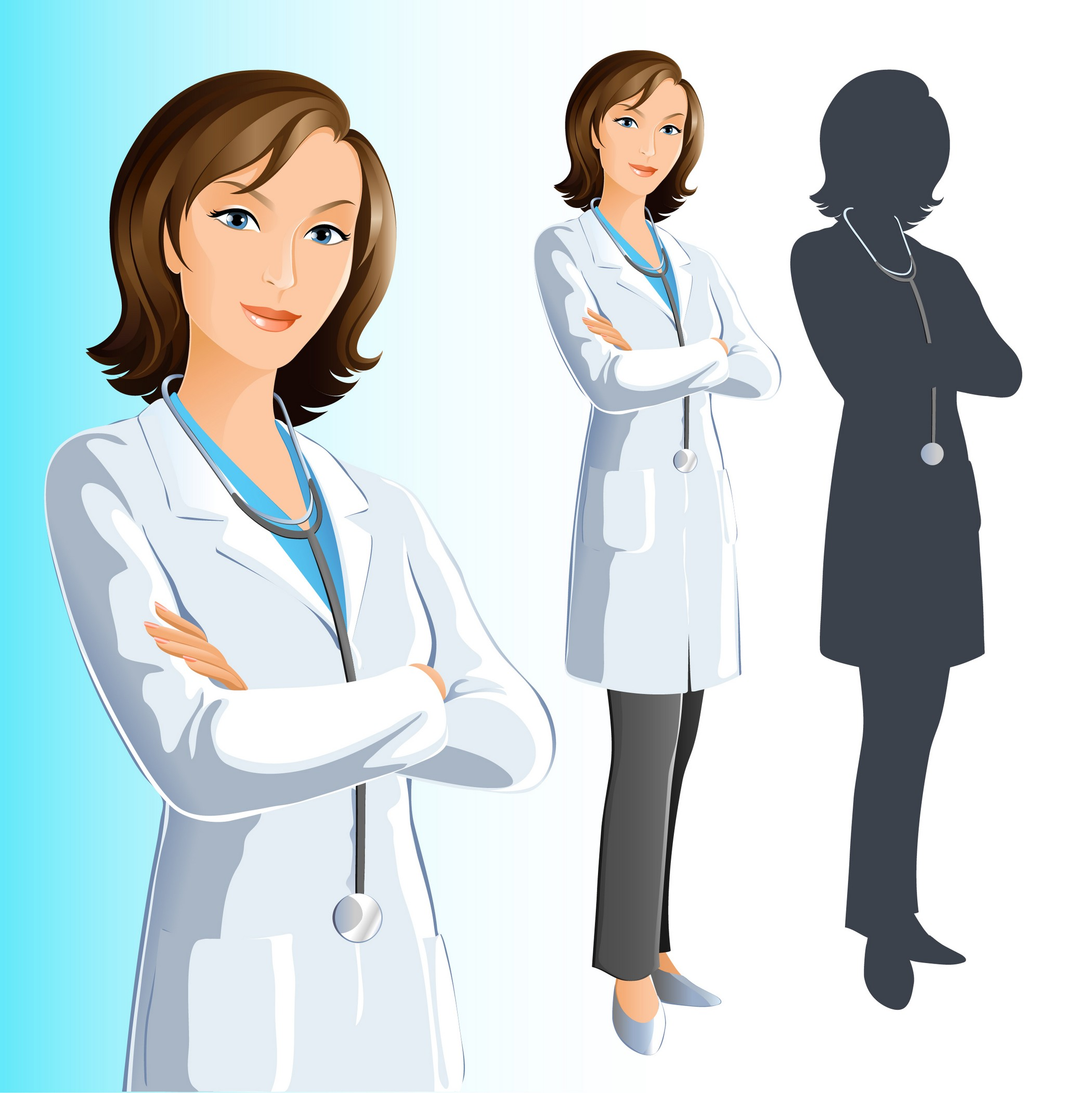 Free Picture Of A Female Doctor, Download Free Clip Art.