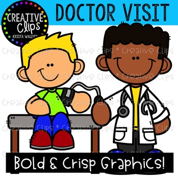 Doctor Visit Clipart {Creative Clips Clipart}.