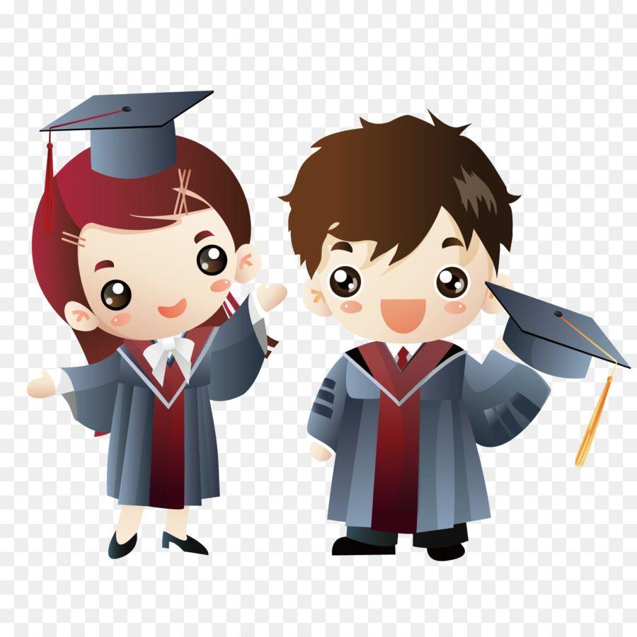 Graduation ceremony Cartoon Doctorate Clip art.