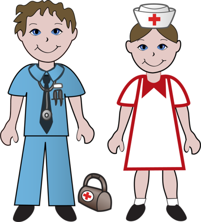 Clip Art Cartoon Doctors Clipart.