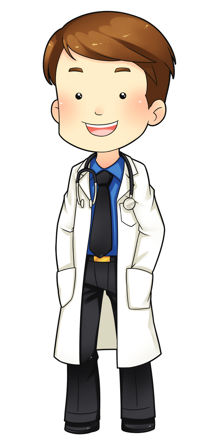 Cartoon doctor clipart.