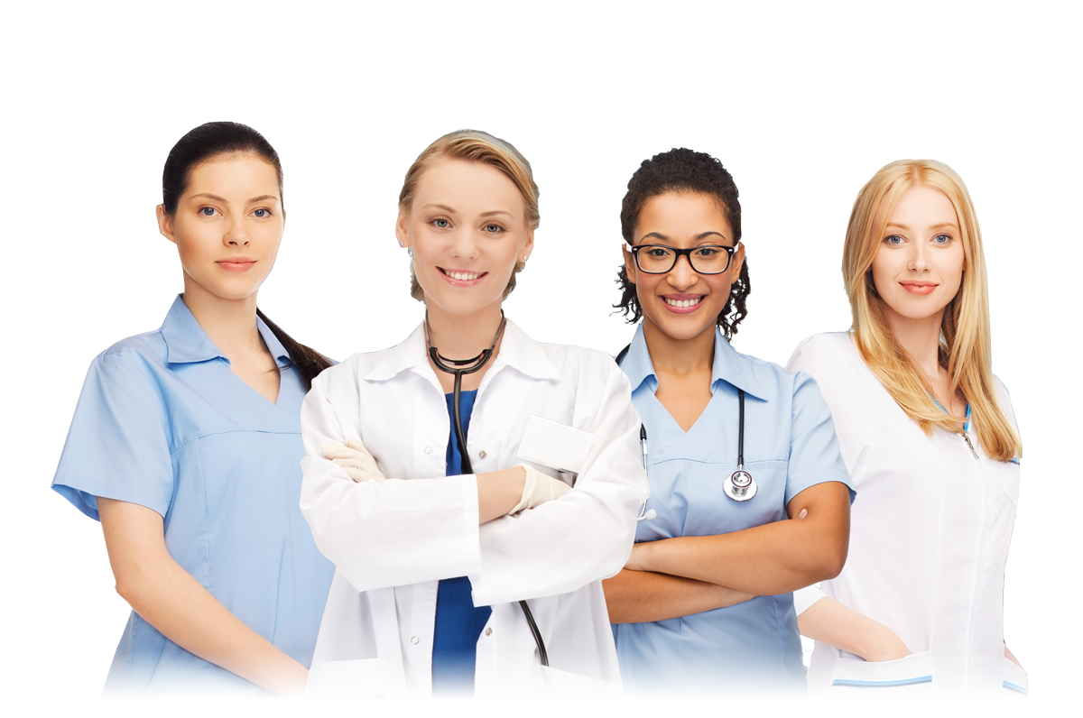 Doctors And Nurses PNG Image.