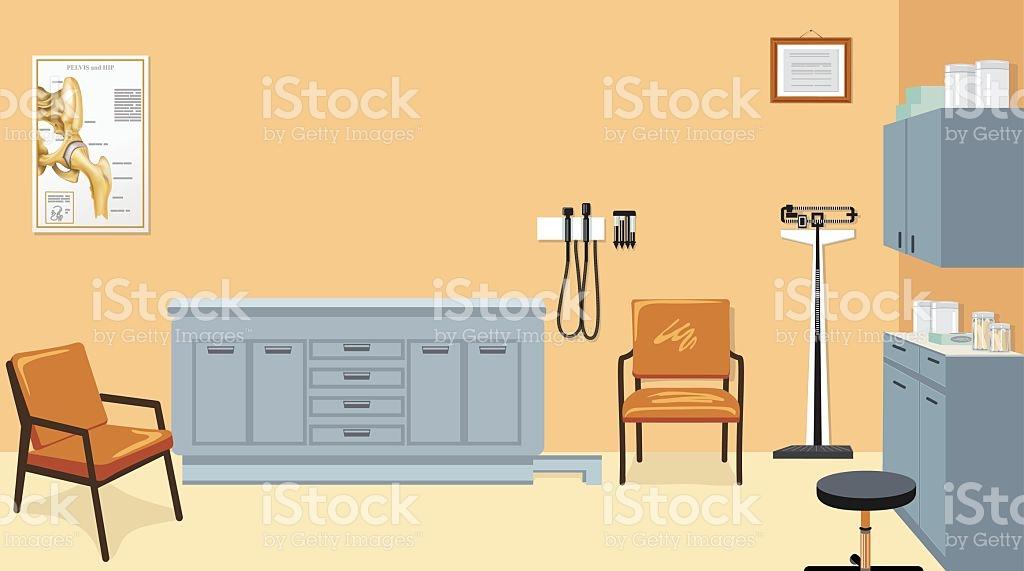 Doctors Office stock vector art 496924113.