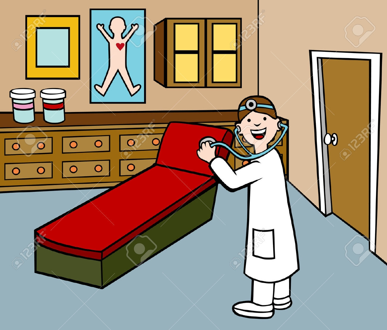 Doctor's office clipart - Clipground