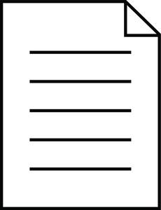 Document Clipart.