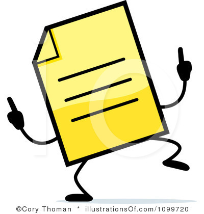 Free clipart documents.