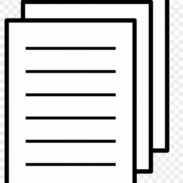 Paper Document Clip Art.