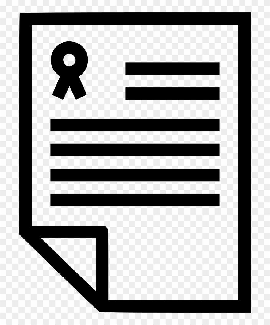 Legal Document Svg Png Icon Free Download.