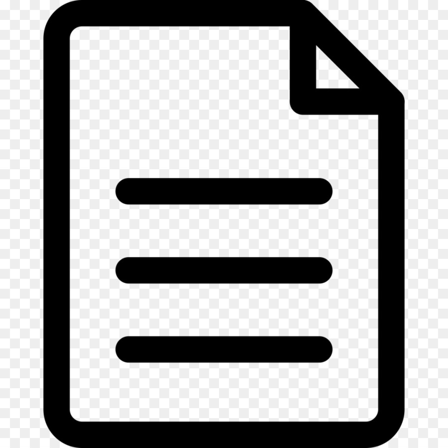 Document Text png download.