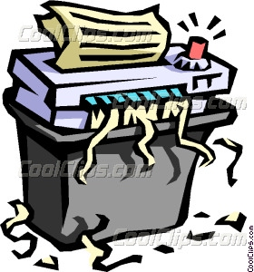 Paper Shredding Clipart.