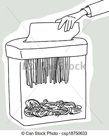 Shredder clipart.