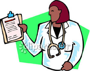 Doctor Documentation Clipart.