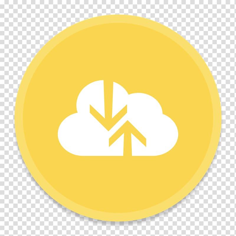 Symbol yellow, Microsoft Document Connection transparent.