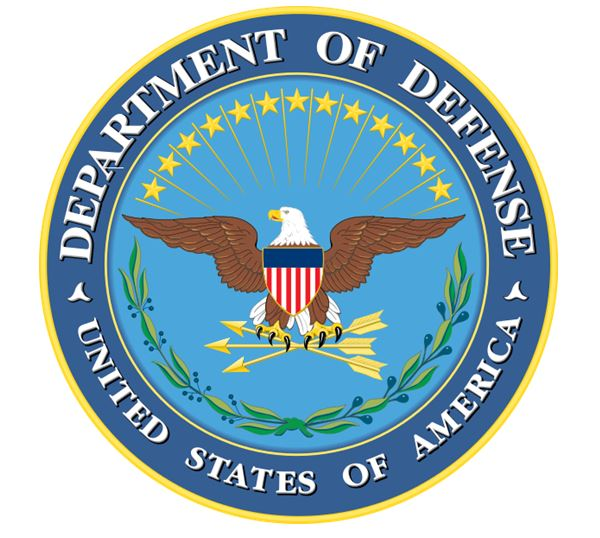 US DoD seal Word clipart.