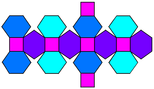 Truncated Rhombic Dodecahedron Clipart.