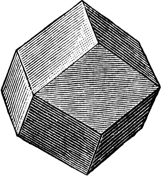 Rhombic Dodecahedron.