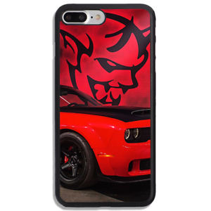 Details about New Best Dodge Car Demon Logo Red Hard Cover Phone Case  Protector For iPhone.
