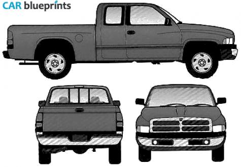 Dodge truck clipart.