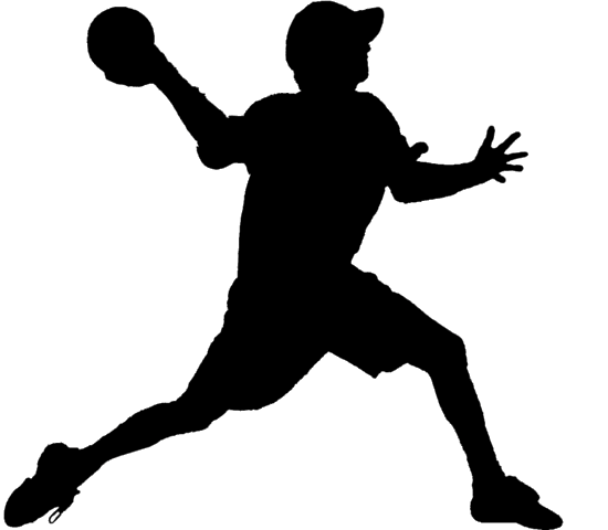 Dodgeball clipart black and white.