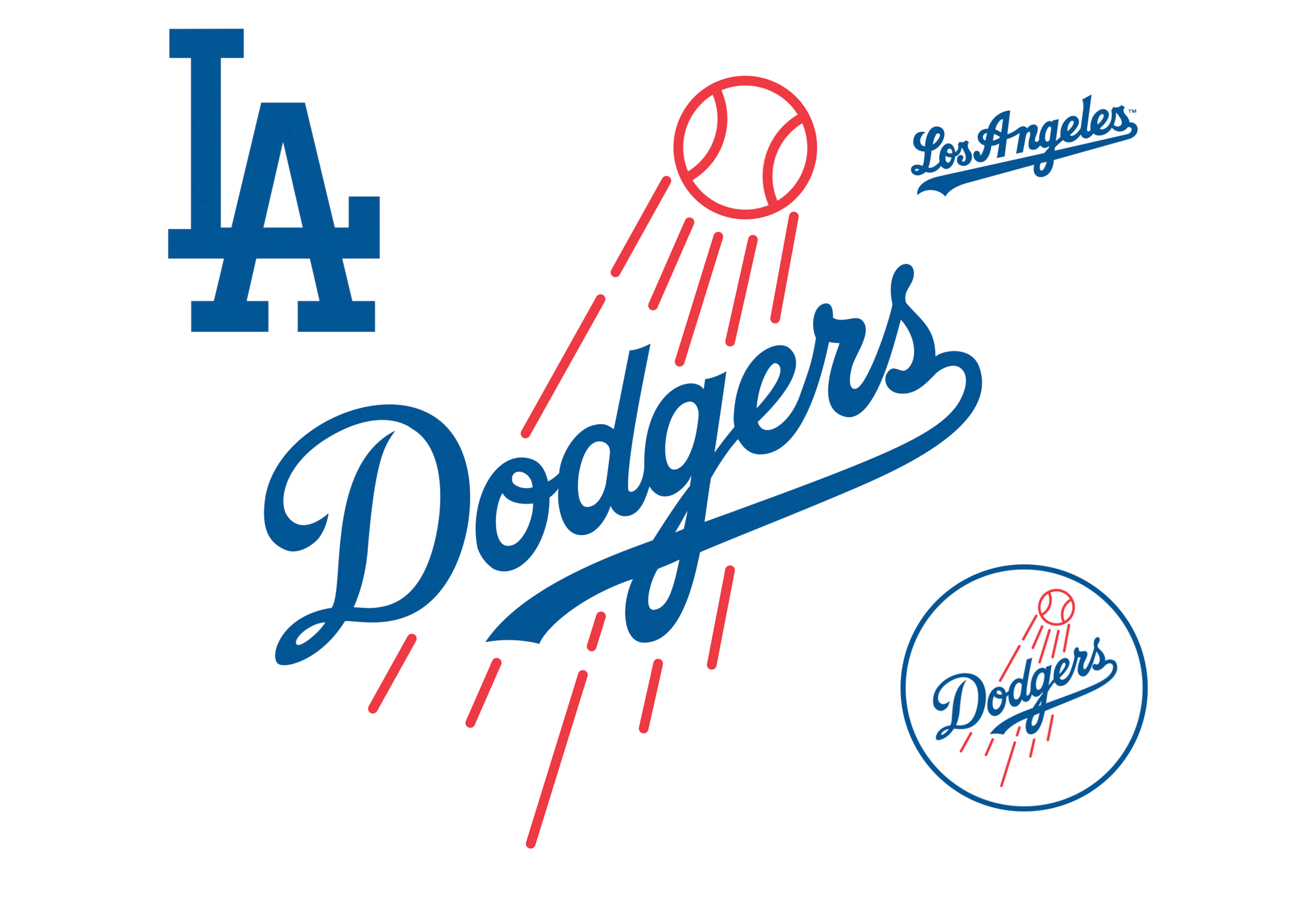 All Dodgers Logos PNG Image.